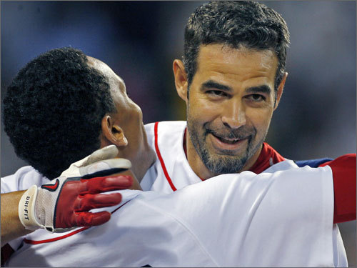 Mike Lowell is known around the league as the ultimate teammate, while A-Rod's effect on the clubhouses he enters could best be described as 'disruptive.' There doesn't appear to be any 'me' in Mike Lowell, while Rodriguez always seems to put someone off on his own team.