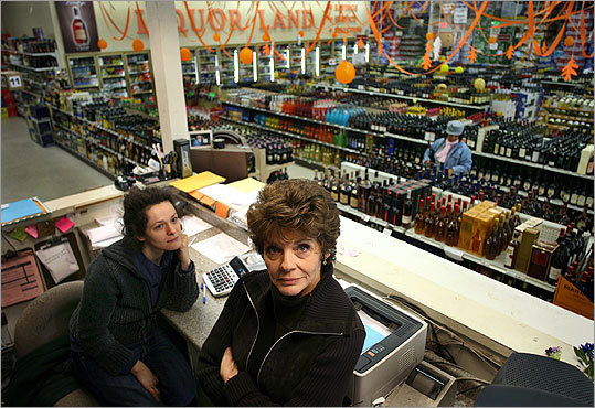 With daughter Christina, whom she has groomed to run Liquor Land, store co-owner Jackie Petrillo, 58, said the neighborhood has become safer in the decades she has helped run the place.