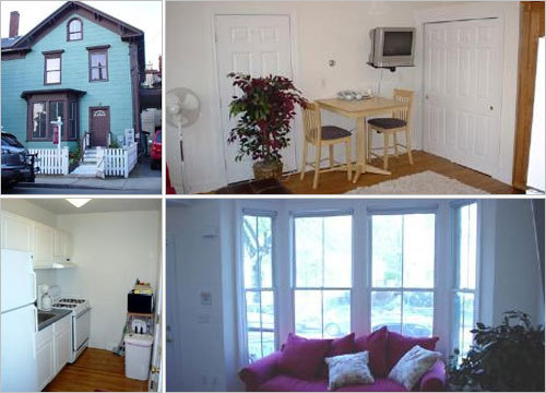 Cambridge Price: $189,900 Address: 51 Cottage St. Bathrooms: 1 Square feet: 639 This studio condo is only blocks from Central Square and features hardwood floors, high ceilings, an updated kitchen, and a private yard. More info on this condo