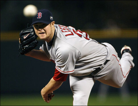 Lester returned to baseball after recovering from lymphoma after the 2006 season, and he rose through the Red Sox farm system to go 4-0 during the regular season for the Sox; he also won Game 4 of the World Series, which clinched the title for Boston.