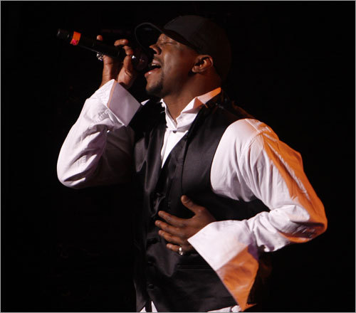 Roxbury native and former New Edition singer Bobby Brown took the 2007 Boston Music Awards stage by storm on Dec. 1 at the Orpheum.