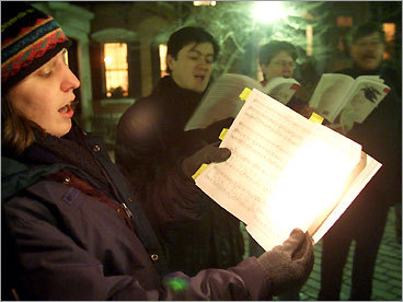 Go caroling Have a decent singing voice and like holiday-themed songs? Join the The Boston Merry Christmas Caroling Mob and spread some cheer to the residents of Jamaica Plain. You can also check local community centers, churches, or neighborhood groups for caroling opportunities, or just form your own band of merry singers and visit a hospital, retirement home, or any other place you think could use some good holiday cheer.