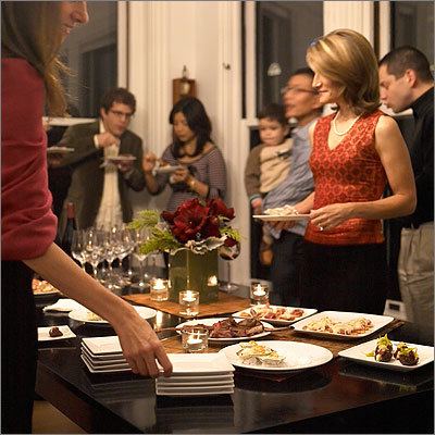 It's that time of year again - holiday office party season is in full swing. But there's no need to get stressed about it. We have collected past holiday office party etiquette advice from two experts - Miss Conduct columnist Robin Abrahams and Etiquette at Work columnist Peter Post. Read on for what to do -- and what not to do -- at your office party.