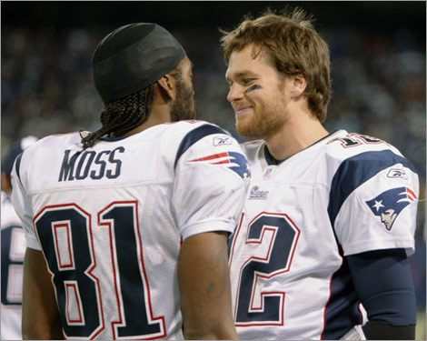 Tom Brady (50 touchdown passes) and Randy Moss (23 touchdown receptions) both had record-breaking seasons, which got us thinking ... did we just witness the best individual performances in Boston sports history? We dipped into the archive (DEEP in the archive for some) to identify other amazing seasons by Boston athletes this town has seen over the years. ( Text by Ben Gellman-Chomsky, Boston.com )