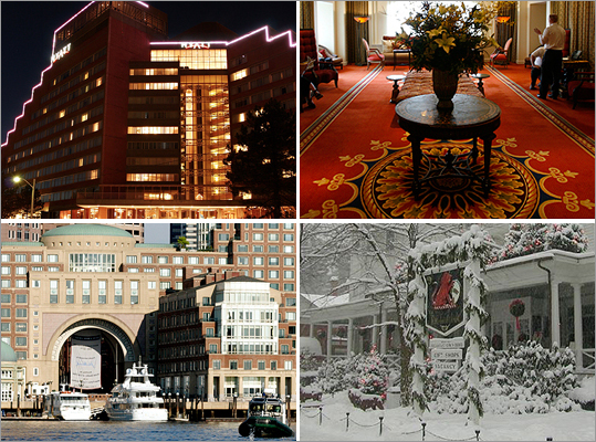 New Year's Eve is upon us. Whether you are planning a visit to Boston for the First Night celebration, or trekking around New England to ring in the new year, many hotels have special packages for the holiday. Begin your New Year's travel planning and check out these New England lodging holiday packages.