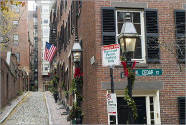 Acorn Street, Beacon Hill. There's a reason it's photographed every nanosecond of every day. PHOTOS Check out our readers' picks DISCUSS What makes Boston perfect?