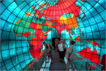 The acoustics at the Christian Science Center's Mapparium , where you can hear someone whisper from the other side of the world. PHOTOS Check out our readers' picks DISCUSS What makes Boston perfect?