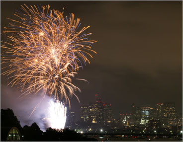 10:30 p.m., July 4, on the Mass. Ave. bridge PHOTOS Check out our readers' picks DISCUSS What makes Boston perfect?