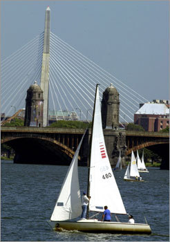 The Zakim Bridge – the Big Dig's silver lining. PHOTOS Check out our readers' picks DISCUSS What makes Boston perfect?