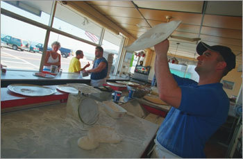 Bianchi's Pizza on Revere Beach - Submitted by Rick Burelson (Curly60) PHOTOS Check out the Globe Magazine's picks DISCUSS What makes Boston perfect?