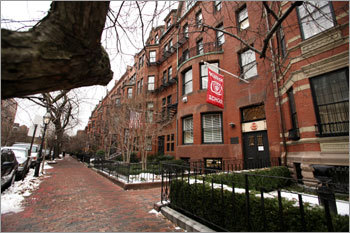 Walking along Marlborough Street in the Back Bay in a soft snow - Submitted by bungle75 EVERYSCAPE Drive down Marlborough Street PHOTOS Check out the Globe Magazine's picks DISCUSS What makes Boston perfect?