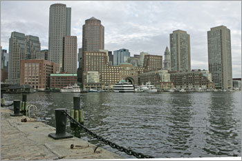 The view of Rowes Wharf as you're leaving on a whale watch - Submitted by SweetScarlette PHOTOS Check out the Globe Magazine's picks DISCUSS What makes Boston perfect?