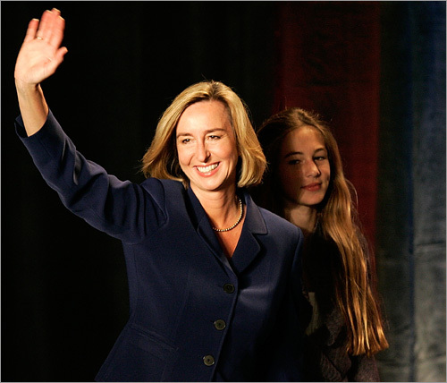 8. What about Kerry Healey? Our former lieutenant governor under now-presidential candidate Mitt Romney comes from Florida, but it's Daytona Beach, not Jacksonville. Maybe we should stop here!