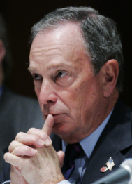 Michael Bloomberg is viewed as a potential candidate.