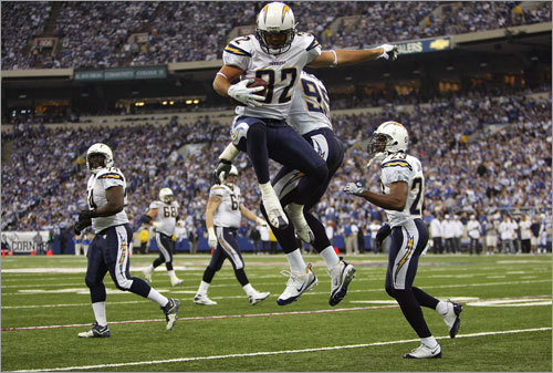 OK fans, time to get creative because those ''cut that meat'' chants won't cut it for this AFC Championship game. With Peyton Manning and the Colts knocked out early, here are five things Patriots fans should know about the San Diego Chargers. ( Text by Jim McBride, Globe Staff )