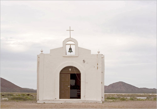 A church near the abandoned salt pans on Isla Carmen. STORY Sampling Baja PLAN Latin America travel guide