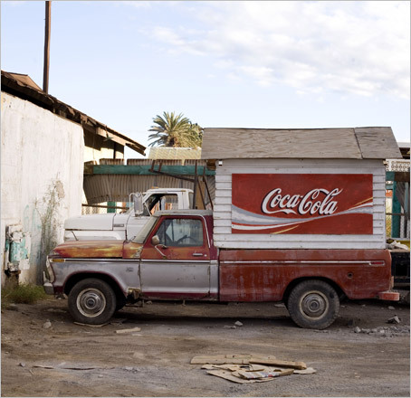 A Coca-Cola truck in Santa Rosalia, once a French copper-mining town and now a center for the local squid fishery. STORY Sampling Baja PLAN Latin America travel guide