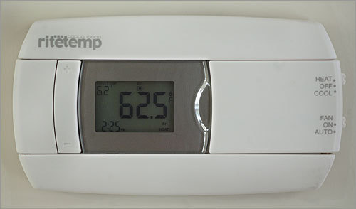 The home also has an Energy Star programmable thermostat.