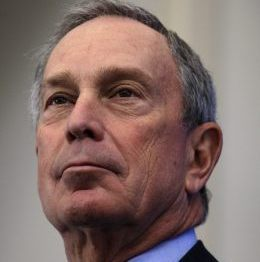 Michael Bloomberg denies mulling a third-party White House bid.