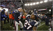 Patriots celebrate