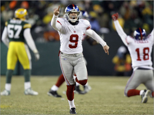 After a wild and sometimes frustrating season, the New York Giants have clawed their way into the Super Bowl. Before the Patriots play them in the big game in Glendale, Ariz., we take a look back at the winding road that brought the Giants to the biggest stage in the world. ( Text by Ben Gellman-Chomsky, Boston.com )