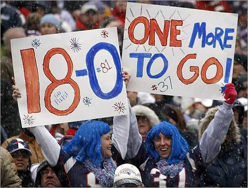 More than 15,000 New England Patriots fans attended the rally.