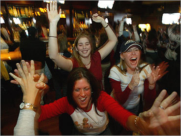 Bars, beers, and burgers, oh my! No plans for the big game? Don't fret, friend. We've picked our favorite sports bars in the Boston area — you can thank us later! Some of the choices are tried-and-true, traditional sports bars (The Fours), while others are restaurants/pubs that happen to offer TVs (Mike's in Davis Square). Be sure to tell us your preferred place to watch sports over fried food and pitchers. Or keep it to yourself. Some local watering holes are just too good to share. — Courtney Hollands, Boston.com Staff TALK: Your favorite sports bar?