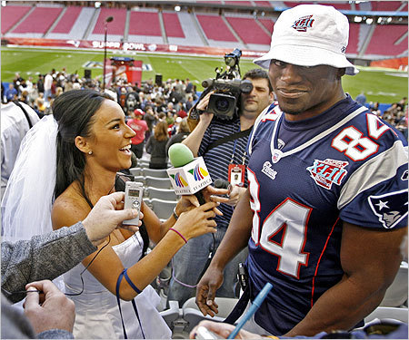 Ben Watson seemed at a loss for words for a moment during his interview with a Mexican television reporter.