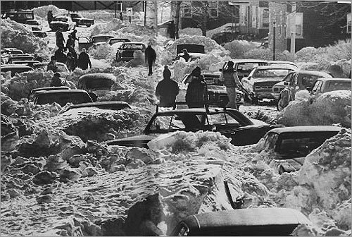 It took days for residents of Farragut Road in South Boston to dig out their snow-covered cars. It was a scene that was duplicated on many streets across the city's various neighborhoods.