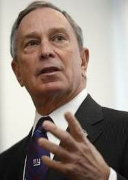 Michael Bloomberg denied a White House run.