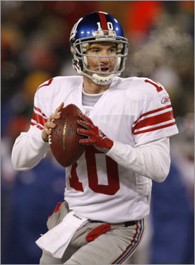 10. Which Eli Manning will show up? Giants QB Eli Manning threw 20 interceptions in the regular season (529 attempts), but has been a different QB in the playoffs, going without an interception in 85 attempts. Turnovers are key in any game and Super Bowl XLII will be no different. Manning also completed 56 percent of his passes in the regular season, but is over 62 percent in the playoffs. Some feel as if Manning has turned the corner. Others wonder if three playoff games is enough to make that leap.