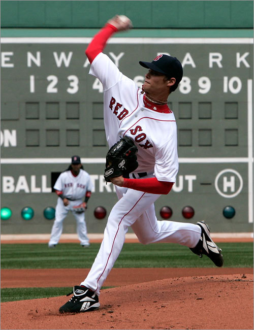8. Where does Clay Buchholz fit? After he threw a no-hitter in his second big-league start, there were plenty of people lobbying for Buchholz to be given a postseason start or a key spot in the bullpen. Instead, the Sox took what they considered the most prudent course and shut him down, maintaining that he'd thrown enough pitches for a man of his tender age (23) and experience. Buchholz comes into camp as no better than No. 6 on the depth chart, behind Beckett, Matsuzaka, Schilling, Lester and Tim Wakefield, and would the the logical choice to step into the rotation if Schilling isn't ready by April.