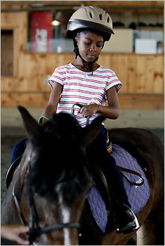 For the horse whisperers 4-H Camp Marshall is tailor-made for the horse-crazy kid in your life. The Young Riders (for campers ages 5 to 7) and Saddle Up (ages 8 to 14) programs blend traditional camp activities with an intensive introduction to horsemanship and horseback riding. Not that into horses? They also have a more traditional (and less expensive) program. Spencer. Horse camps $405 per week, traditional day camp $275 per week. Weekly sessions July 7-Aug. 15. Three to 12 campers per counselor (depending on program). 508-885-4891; campmarshall.org MAP Find your favorite camp PLAN Kid-friendly travel guide