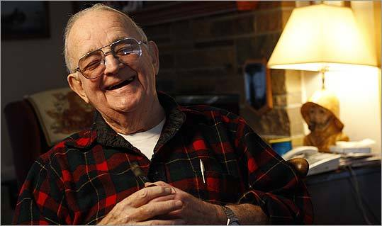 Elmer Pooler, 81, estimates he played a role in rescuing about 40 people in his more than three decades as assistant harbormaster and harbormaster in Scituate.