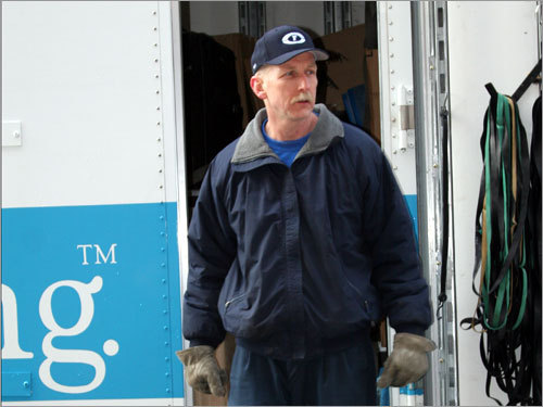 Al Hartz of New England Household Moving and Storage, the company that has carted the Sox gear to Florida for the last 11 years, will have the honor of driving the truck from Boston to Fort Myers this year.
