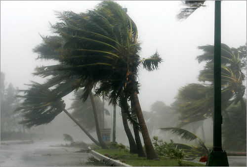 3. Whoa. Wilma In 2005, Hurricane Wilma ripped through southern Fort Myers. Wilma, measured at 882 millibars of pressure, is still the most intense Atlantic hurricane on record – stronger even than hurricanes Katrina or Rita.