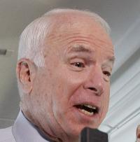 John McCain's negative ad silenced rival Mitt Romney.