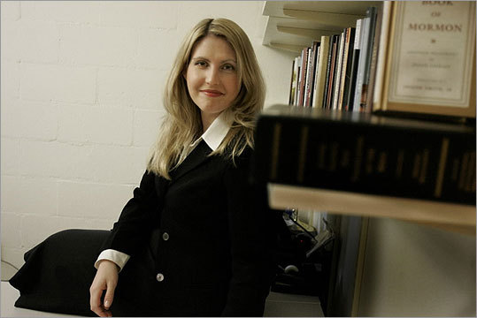 Melissa Proctor teaches a course at Harvard on Mormon history, theology, and culture.