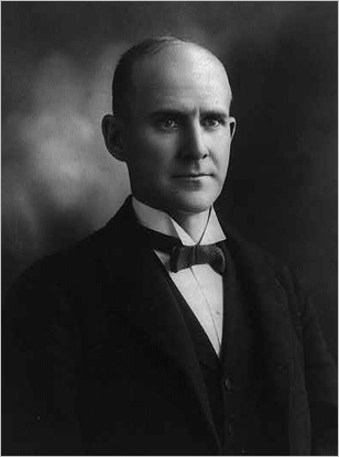 Although 'socialist' is a dirty slur in American politics today, the Socialist Party of America once wielded considerable clout in the United States. Eugene V. Debs, arguably the party's most visible member, ran for president five times, including once from jail. Debs received modest support in each of his runs, topping out at 6 percent in the 1912 election.