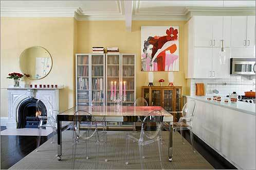 The Living Room On Main Floor Of Hannah Barrett And Laurel Sparkss Condo Mixes IKEA