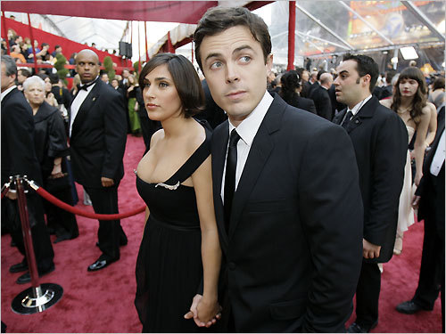 Cambridge's own Casey Affleck was nominated for his supporting role in 'The Assassination of Jesse James ...' He also starred in the 2007 movie 'Gone Baby Gone,' which was directed by his brother Ben Affleck. Listen to Beggy's red-carpet interview with Affleck: