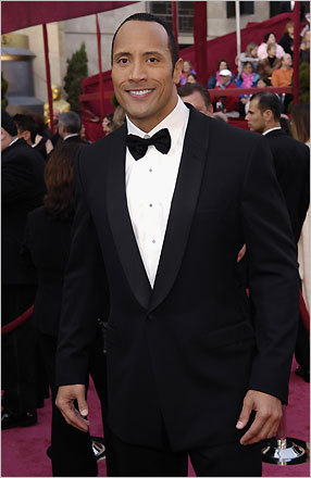 Dwayne Johnson, best known as 'The Rock,' was a presenter at the 80th annual Oscars for best visual effects. Johnson most recently starred in the 2007 film 'The Game Plan.' Listen to Beggy's red-carpet interview with Johnson: