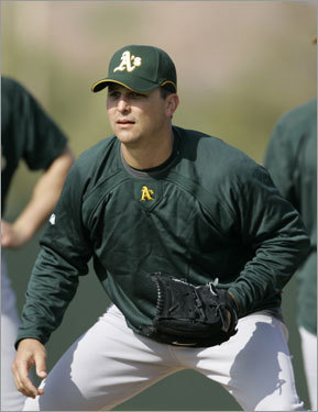Foulke imploded with the Red Sox following the World Series in 2004, posting a 5.91 ERA in 2005 and a 4.35 ERA with no saves in 2006. He retired after signing with Cleveland in the offseason last year, but is now attempting a comeback with the Oakland Athletics.