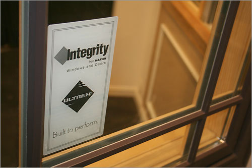 Constructed from fiberglass and silica sand, Marvin's new line of Integrity Windows is specially designed for green building. The windows, which take less energy to create than conventional vinyl windows, also last longer.