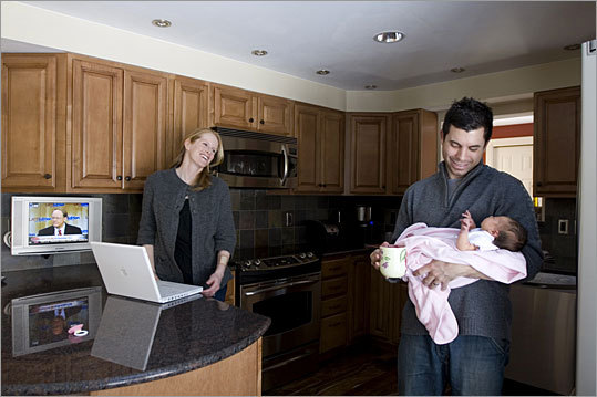 Deyano Manco and his wife, Nicole, handled most of their house hunt online.