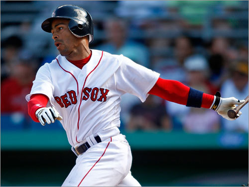 Julio Lugo, SS Handbook 'update' projection: Avg. HRs RBIs Runs SB .266 9 57 76 26 Your turn: <!-- // define variables var date = new Date(); var current_time = date.getTime(); // write SCRIPT tag to browser document.writeln(' '); // -->