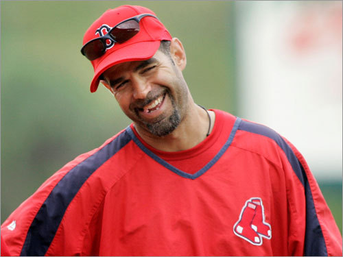 Mike Lowell, 3B Handbook 'update' projection: Avg. HRs RBIs Runs 2B .282 17 81 64 34 Your turn: <!-- // define variables var date = new Date(); var current_time = date.getTime(); // write SCRIPT tag to browser document.writeln(' '); // -->