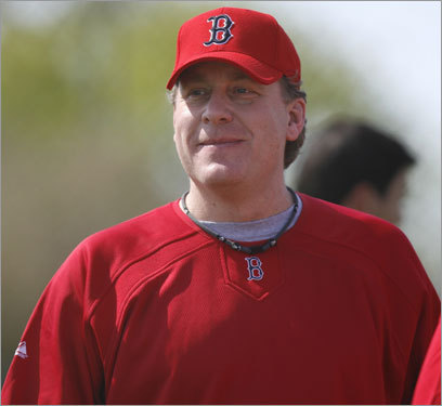 Curt Schilling, SP Handbook 'update' projection: W-L ERA IP K BB 4-2 3.48 62 58 10 Your turn: <!-- // define variables var date = new Date(); var current_time = date.getTime(); // write SCRIPT tag to browser document.writeln(' '); // -->