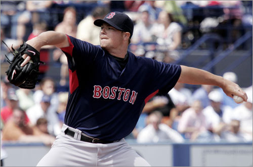 Jon Lester, SP Handbook 'update' projection: W-L ERA IP K BB 10-10 4.42 175 149 89 Your turn: <!-- // define variables var date = new Date(); var current_time = date.getTime(); // write SCRIPT tag to browser document.writeln(' '); // -->