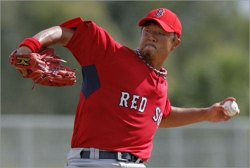 Hideki Okajima, RP Handbook 'update' projection: W-L SV ERA IP K 5-2 6 3.15 60 56 Your turn: <!-- // define variables var date = new Date(); var current_time = date.getTime(); // write SCRIPT tag to browser document.writeln(' '); // -->